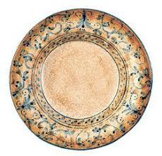 Italian Designer Salad Plate