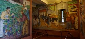 Coit Tower Murals Images by California Dreaming U2026 On The Road