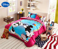 Queen Size Minnie Mouse Bedding by Compare Prices On Mickey Mouse Queen Sheet Set Online Shopping