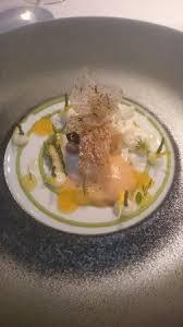 bretonische langoustine buttermilch bergamotte grüner