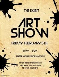Art Show Similar Design Templates
