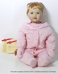 NWOB Vintage PORCELAIN BABY DOLL