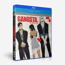 100 Blu Home Video Shop GANGSTA Complete Series Essentials BD Funimation