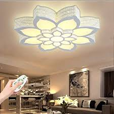 deckenle modern led deckenleuchte blume shape beleuchtung design acryl aluminium lenschirm deckenle wohnzimmer esszimmer schlafzimmer küche