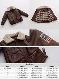 amazon com marc janie baby toddler boys u0027 military flight leather