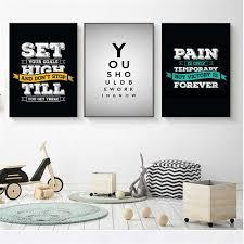wand kunst zitate poster über arbeit schlafzimmer sprüche lebens weise menschen inspiration küche leinwand kinderzimmer decor nordic skandinavischen