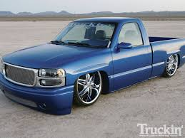 2000 GMC Sierra - Blue-Chip Sierra - Truckin' Magazine 2000 Gmc Sierra Single Cab News Reviews Msrp Ratings With Gmc 2500 Williams Auto Parts Ls Id 28530 Frankenstein Busted Knuckles Truckin To 2006 Front Fenders 4 Flare And 3 Rise 4door Sierra 1500 Single Cab Lifted Chevy Truck Forum Tailgate P L News Blog 3500 Farm Use Photo Image Gallery Classic Photos Specs Radka Cars Information Photos Zombiedrive Coletons Monster