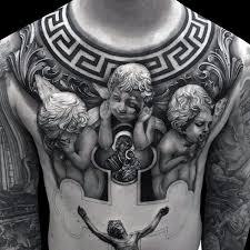 Classy Idea Of 3D Jesus Tattoo 2