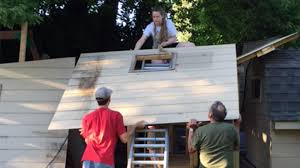 Built Rite Sheds Utah by Leet Township Rebuilds Tree House After Controversy News