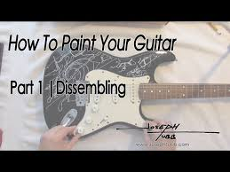 3 Ways To Repaint A Guitar