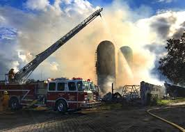 A Dozen Departments Called To Barn Fire In Cayuga County Town Of ...