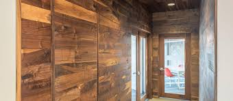 Reclaimed Wood Paneling For Walls And Ceilings In Wall Panel Plans 14
