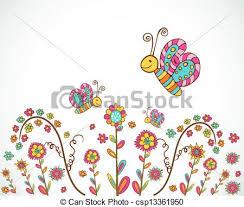 Spring Nice Flower Background Vector