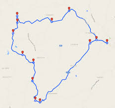 Easy Cycling Route Small Roads 18 Km