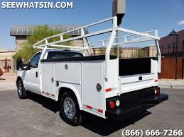 2012 Ford F-250 2wd Utility Bed Service Truck - Only