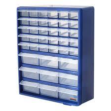 Sterilite Storage Cabinet Grow by Multi Compartment 39 Drawer Organiser Cabinet Garage Home Diy