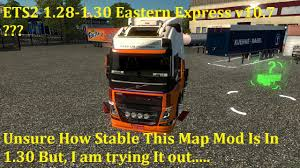 ETS2 1.28-1.30 Eastern Express Map V10.7 #1 - YouTube Temperature Sensitive Freight Ltl Trucking Transport Services For Ontario And Quebec Truckload Tyco Us 1 Semi Tractor Trailer Slot 1857816454 Home Golden Express Inc First Nikola Goes To Youtube Logistics Company Kansas City Mo 247 Railway Agency Conway Tracking Navajo Heavy Haul Shipping Services Truck Driving Careers Specialists In Eawest Return Road Gkr The Dubai Legends Of Long Haulage Chapter One Heartland