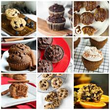 Collage Of Vegan Muffin Recipes Without Oil