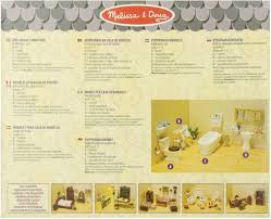 dollhouse bathroom set