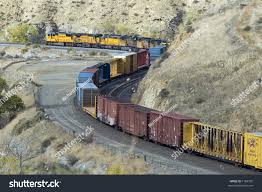 Apple Shed Inc Tehachapi Ca by Mountain Freight Train Near Keene California Stock Photo 1168700