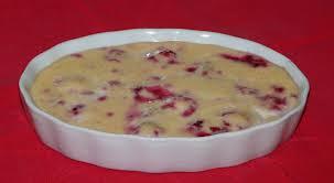 recette de dessert facile et léger crème aux framboises