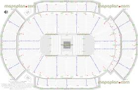 Mgm Grand Floor Plan by Detailed Seat Row Numbers End Stage Concert Sections Floor Plan