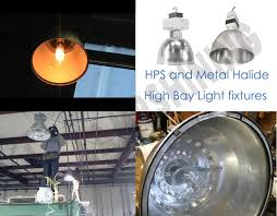 led high bay light fixtures replacement metal halide or high