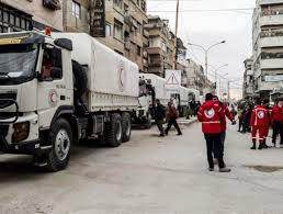 100 Eastern Truck And Trailer First Aid Convoy Of The Year Reaches Ghouta After Days Of