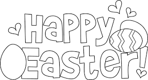 Happy Easter Coloring Pages Photo Album Gallery