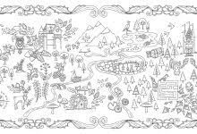 Unusual Inspiration Ideas 21 Amazon Enchanted Forest An Inky Quest Coloring Book
