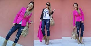 pink zara blazer styling idea youtube