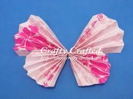 Accordion Fold Red Packet Butterfly