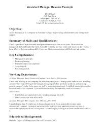 Sample Resume Laboratory Supervisor Feat Here Are Manager Assistant Template
