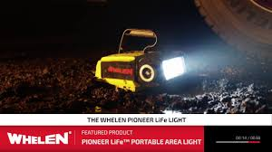 Jotto Desk Crown Victoria by Whelen Pioneer Life Led Spotlight Floodlight Scene Light Portable