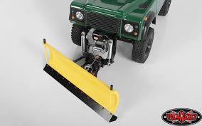 100 Rc Truck Snow Plow RC4WD Super Duty Blade Yellow ZX0043 Gelande II