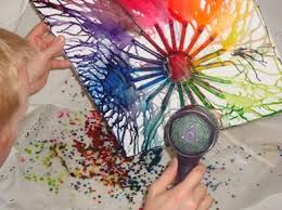 85 Best Melted Crayon Art Images On Pinterest