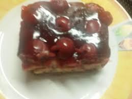 schoko pudding kirschen kuchen