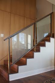 116 Best Stairs Images On Pinterest | Stairs, Banisters And Railings Modern Glass Stair Railing Design Interior Waplag Still In Process Frameless Staircase Balustrade Design To Lishaft Stainless Amazing Staircase Without Handrails Also White Tufted 33 Best Stairs Images On Pinterest And Unique Banister Railings Home By Larizza Popular Single Steel Handrail With Smart Best 25 Stair Railing Ideas Stairs 47 Ideas Staircases Wood Railings Rustic Acero Designed Villa In Madrid I N T E R O S P A C