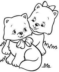 30 Cute Cat Coloring Pages 4746 Via Kidsplaycolor