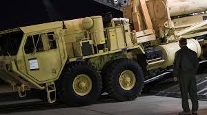 U.S. Starts Deployment Of Missile-defense System In South Korea ...