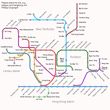 100 An Shui Wan Hong Kong MTR Route Map Fares And Journey Time