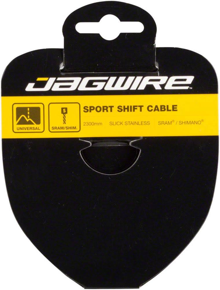 Jagwire Sport Derailleur Cable Slick - Stainless, 1.1x3100mm