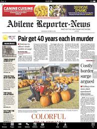 Milwaukee Pumpkin Patch Lubbock by Abilene Reporter News Print On The App Store