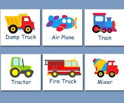 100 Truck Art Amazoncom Transportation Wall Transportation Nursery Wall