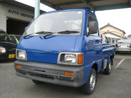 100 Hijet Mini Truck Blue Custom Paint 92 Daihatsu Japan Japanese