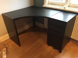 Ikea Micke Corner Desk White by Ikea Micke Corner Desk Draws U0026 File Storage In Benfleet Essex