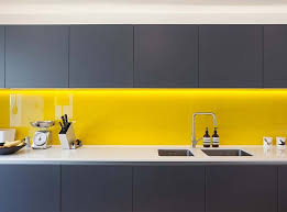 Victorian Terrace House Renovation In Vibrant East London Grey Yellow KitchenModern