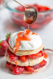 Strawberry Shortcake Scones Saving Room for Dessert