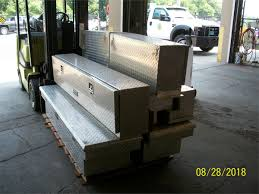 LOT ALUMINUM TRUCK TOOL BOXES Online Government Auctions Of ... Garage Custom Pick Up Tool Boxes To Spldent Full Along With Better Built Fullsize Silver Alinum Truck Box At Lowescom Buyers Cross Size Hayneedle Beds Tradesman 60 In Single Lid Wide Design Flush Mount Delta Champion 70 Lowprofile Lund Steel White86460 Dodge Marvellous Toolbox Tank Black Mounts Mounting Silverado 1215201 Weather Guard Us Intertional Products Truck Toolboxe Bed Tool Storage Low Profile Smline
