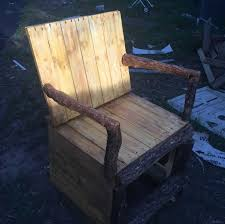 Pallet Rocking Chair O 1001 Pallets